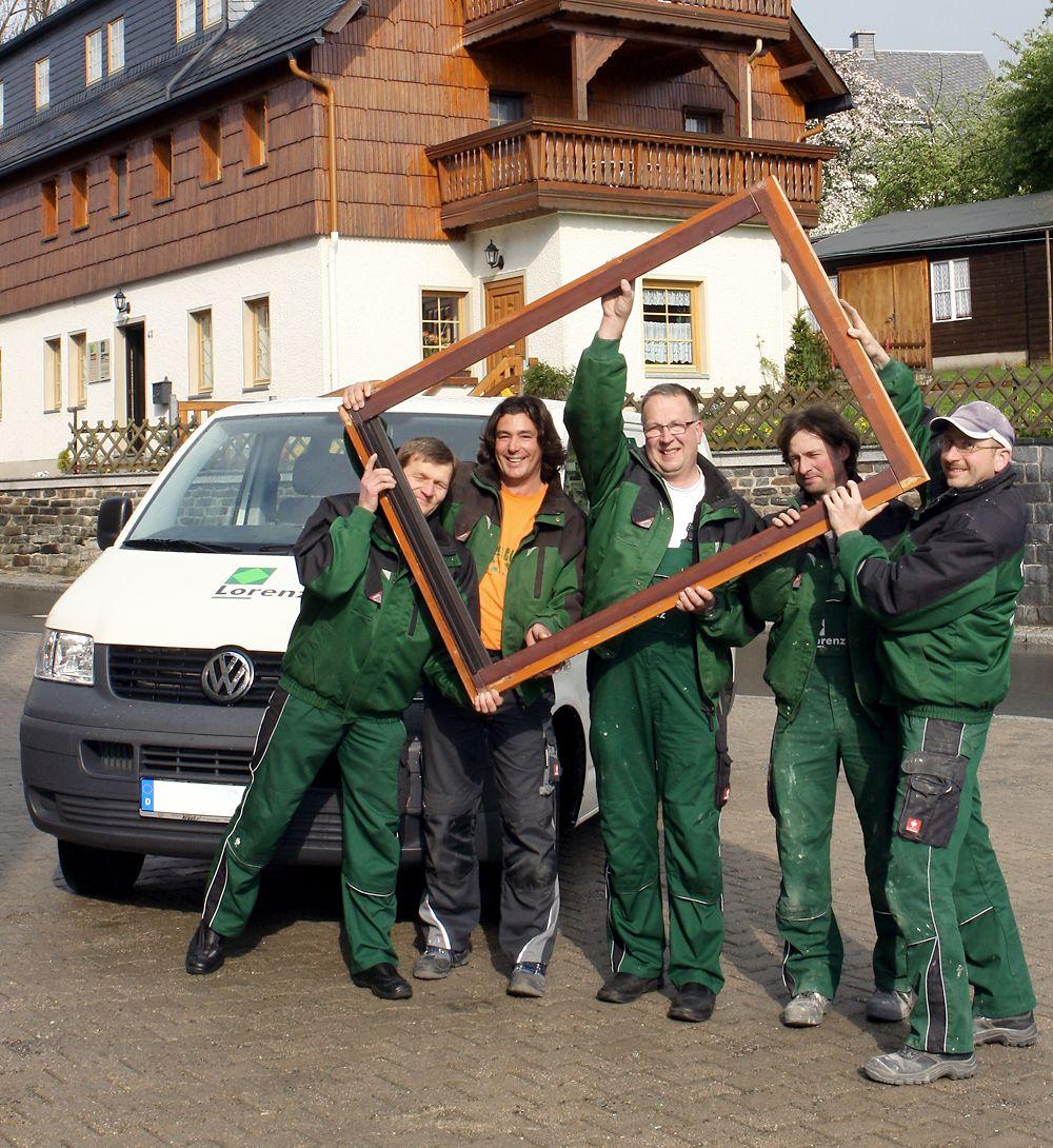 Das Team von Lorenz Renovierungen