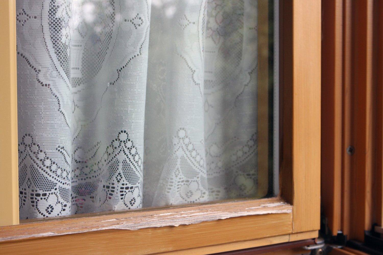 Fenstersanierung - vorher