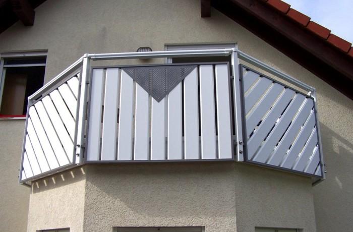 Aluminiumbalkonbau